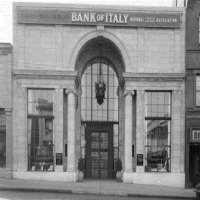 Amadeo GianniniBank of America (Bank of Italy) (1904)